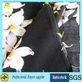 Rayon Challis Tissu de qualité pour chemise / tissu de fille