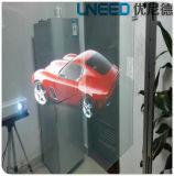 3D transparenter ganz eigenhändig geschrieber selbstklebender bekanntmachender Glasfilm der Projektions-Film/3m