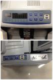 Máquina de pagamento em dinheiro com detecção de moeda falsa
