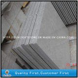 Telhas de assoalho brancas da pedra do granito da pérola chinesa barata para a cozinha