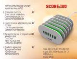 Carregador do telefone do USB do carregador Home portuário 100-240V 5V 7A do USB de Ldnio 6 multi