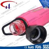 alta bottiglia di acqua di vetro di Borosilicate 570ml per gli sport (CHB8020)