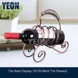 Vin de métal rack support étagère d'affichage (WR001)