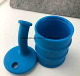 9 pouces de catégorie comestible d'huile de silicone de baril de TAPE d'équipement de l'eau de pipe de fumage
