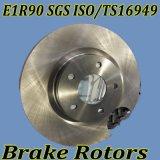 Disques de frein avec TS16949 Certificat pour les voitures japonaises