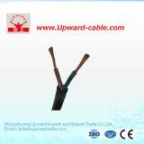 Doppio cavo flessibile isolato PVC di corrente elettrica delle 2 AWG