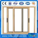 Moderne Art verwendetes einzelnes ausgeglichenes Glas-Windows-schiebendes Aluminiumaluminiumfenster und Tür