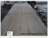 1220 * 2440mm / 4 * 8 pies de pino radiante de chapa de madera contrachapada para la puerta o la cama