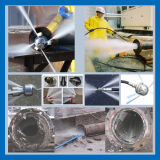 Струей воды под высоким давлением машины промышленные машины для очистки масла в баке