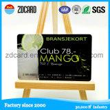 Изготовленный на заказ магнитная карточка пластмассы членства VIP Barcode