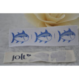 Kundenspezifischer Marken-Tuch gedruckter Baumwollkennsatz für Kleid/Matratze