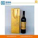Sacco di carta della bottiglia di vino della maniglia dei pp