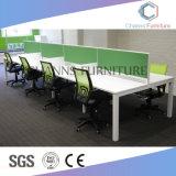 Poste de travail en bois de meubles de meilleur de couleur compartiment moderne de bureau