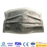 Wegwerfbare aktive Kohlenstoff-Filter-Gesichtsmaske