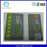Fábrica cortando personalizada do cartão plástico do PVC
