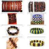 Bracelete de turmalina com pedras preciosas de energia de moda