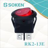4 interruptor de posición redondo del eje de balancín Switches/3 de los contactos 16A 250V