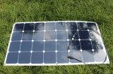 100W Sunpower 반 유연한 태양 전지판 18V