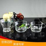 Vente en gros Tasse en verre à bière Mug à café en verre avec tasse