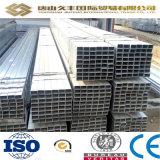 Tubos de acero cuadrados galvanizados/sección hueco del tubo