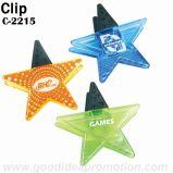 Clip magnetica di plastica rotonda promozionale