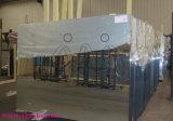 Specchio trasparente di lucidatura rotondo dell'argento della decorazione dei bordi chiaramente 5mm 6mm