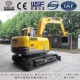 Lavoro di estate dell'escavatore di Baoding 80 ad alto rendimento bassi del consumo di combustibile piccolo