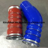 Boyau d'entrée d'air de refroidisseur intermédiaire de silicones pour des pièces de camion