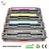 Compatible con la serie CB540A Cartucho de tóner láser en color para HP 1215