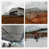 Almacén de almacenaje prefabricado de la estructura de acero con bajo costo