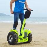 2つの車輪のバランスの電気土のバイク、電気スケートボードを折る21インチのタイヤ