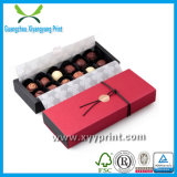 Boîte de papier faite sur commande à chocolat de modèle d'OEM de qualité avec l'impression