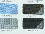 Capa de plata y recubierta de aluminio de 30%70%Poliéster PVC persianas de rodillo de tejido de protección solar/Ventana Tela de cortina