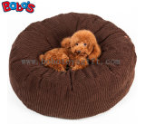 High Quanlity Plush Thick Pet Bed Dog Sofa Cat Mat in Dark Brown Color Bosw1102/60 Cm