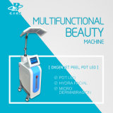 Diamante Microdermabrasion y Dermabrassion hidráulico para la limpieza de la piel