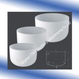 crogiolo cilindrico di ceramica del piatto dell'allumina 1800c