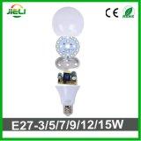Comercio al por mayor calidad2835 SMD LED 18W Bombilla redonda