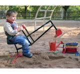 Minikind-Sand-Kasten-Gräber/Exkavator