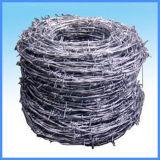 PVCは熱い浸された電流を通された有刺鉄線に塗った