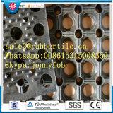 El drenaje alfombrilla de goma alfombrilla de goma antideslizante para la venta alfombra antifatiga
