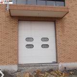 Промышленная секционная сползая надземная дверь штарки