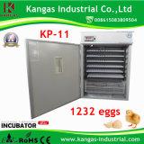 Incubateur solaire conçu avancé d'oeufs de poulet de Digitals à vendre
