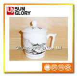 Кружка Китая косточки с крышкой GB013