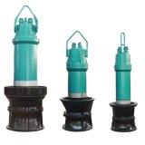 플러드 배수장치를 위한 수직 고품질 잠수할 수 있는 축과 혼합 펌프