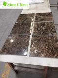 Mattonelle di marmo scure di marmo della Cina Brown Emperador