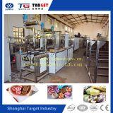 Caramelo duro bicolor del control automático del PLC que hace la máquina