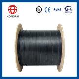 Cable de fibra óptica al aire libre de la gota 2 Núcleo G657A Arco-Tipo GJYXFCH para la comunicación