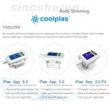 Cryolipolysis Fatfreezing fette schmelzende Karosserie, die Cryo Coolsculpting Coolplas Anticellulite-Schönheits-Maschine abnimmt