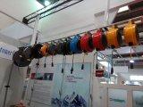オプションの組合せの自動水、空気、電気ホースの巻き枠
