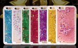 iPhone 6/6s/Samsung A3 A5 J1 J7 S7 S7 Edgeのための専門のPhone Case Manufacturer Wholesale Liquid Sand Silicone/TPU Case
